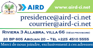 Aird campagne comment nous joindre