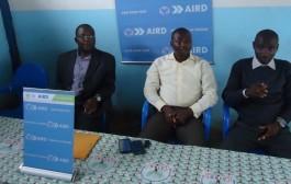 Investiture de la FEDEK par le vice-président Georges Temanin