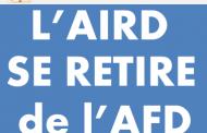 Déclaration de retrait de l'AIRD de l'AFD